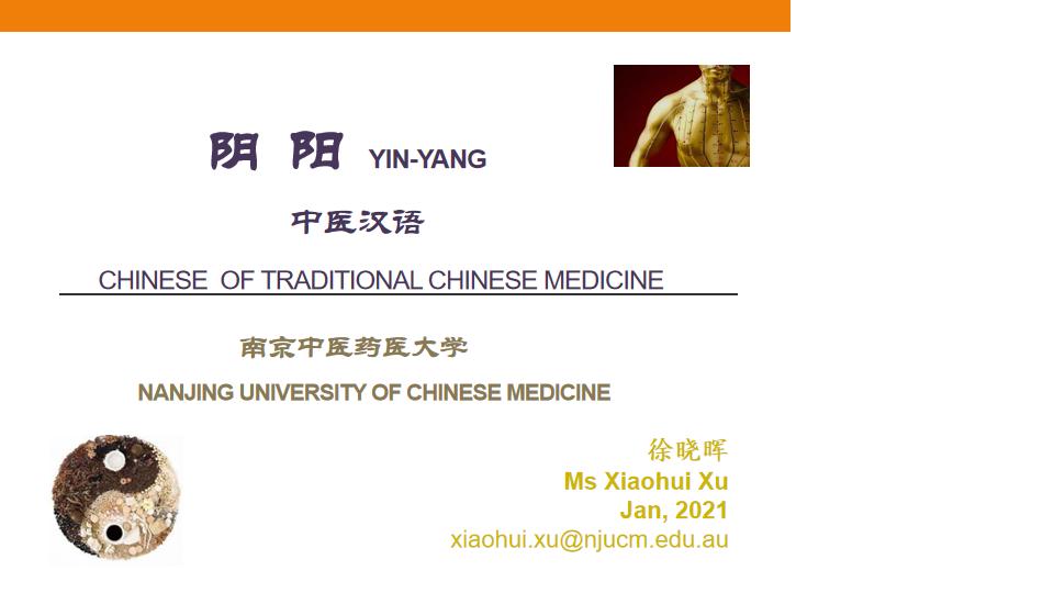 TCM Chinese IV Yin-Yang